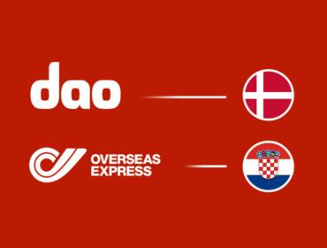Versand nach Kroatien Versand nach Dänemark