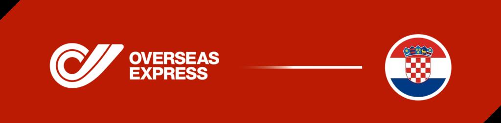 Packeta Overseas Express Versand nach Kroatien